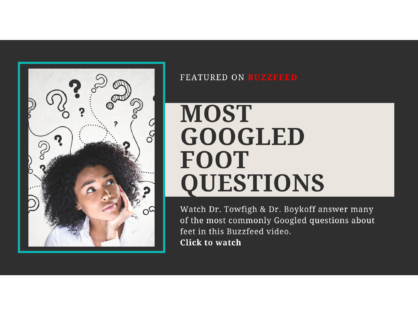 Most Googled Foot Questions
